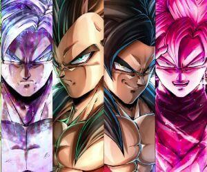 Dragon Ball Saiyans Live Wallpaper - MyLiveWallpapers.com
