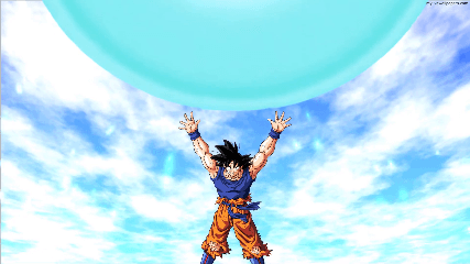 Dragonball Super Goku Spirit Bomb Animated Wallpaper Animated