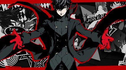 Joker Persona5 Animated Wallpaper