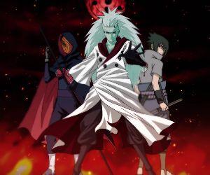 Madara Obito Sasuke-Naruto Live