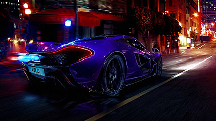 Wild Purple Car Animated Wallpaper Mylivewallpapers Com
