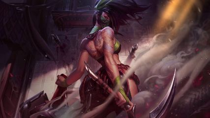 Akali League Of Legends Animated Wallpaper Mylivewallpapers Com