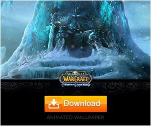 Arthas Throne-World of Warcraft Animated Wallpaper