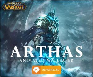 Arthas-World of Warcraft Animated Wallpaper