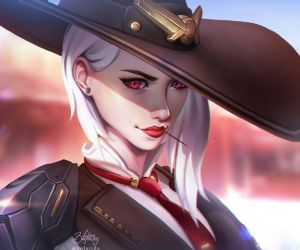 Ashe Overwatch Live Wallpaper