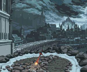Dark Souls 8 Bit Live Wallpaper - MyLiveWallpapers.com