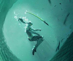 Genji Underwater-Overwatch Live Wallpaper ...