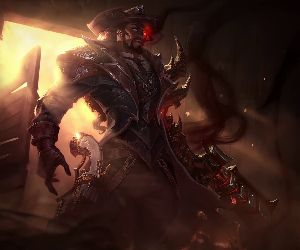 High Noon Lucian-League of Legends Animated Wallpaper