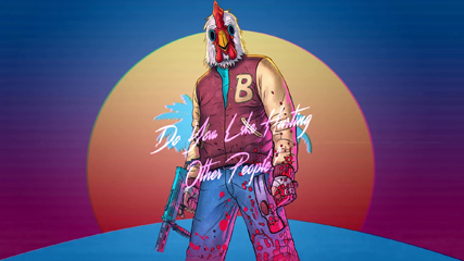 Hotline Miami Jacket Payday 2 Animated Wallpaper