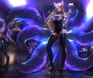 Kda Ahri League Of Legends Live Wallpaper Mylivewallpapers Com