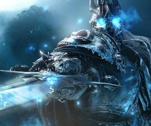 Lich King Cold Eyes Animated Wallpaper Mylivewallpaperscom