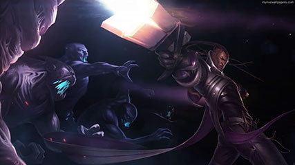 Lucian-League Of Legends Animated Wallpaper