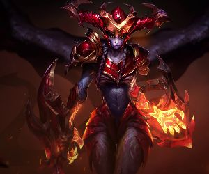Shyvana-League of Legends Animated Wallpaper
