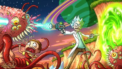 Rick And Morty Animated Wallpaper