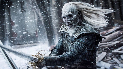 White Walker Animated Wallpaper Mylivewallpaperscom