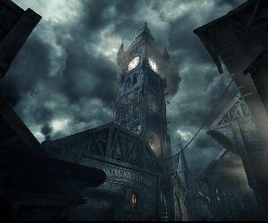 Stonemarket Clock Tower Thief Live Wallpaper