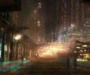 Cyberpunk Rain City Live Wallpaper Mylivewallpapers Com